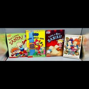 Nickelodeon RUGRATS Book Bundle Lot